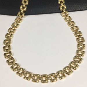 Jewelry - 14k Yellow Gold Women's Fancy Link Necklace Chain